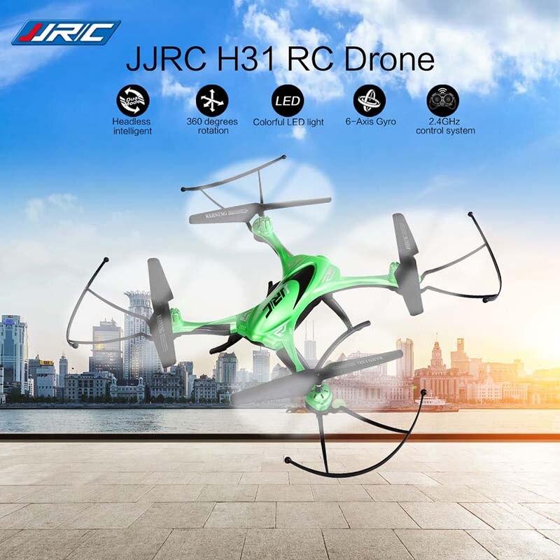 Jjrc H31 Радиоуправляемый Дрон 2.4 ГГц 4ch Водонепроницаемый горючего Безголовый режим полета вертолета Один ключ возврата вертолет ЖК-дисплей Дисплей дроны