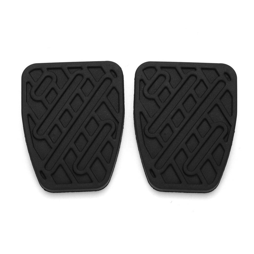 cubierta del pedal del embrague de goma autom/ática Un par de almohadillas del pedal del embrague del coche