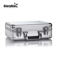 GloryStar Silver Aluminum box for DJI Mavic Pro Drone Storage Case Bag Mavic Pro Battery & Accessories Collection Case Suitcase