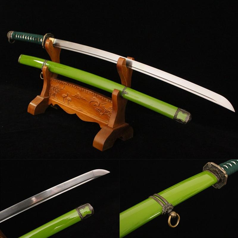 Japonská šavle katana samurajské japonské meče katana čínský meč ručně vyráběné vintage domácí výzdoba slitina tsuba
