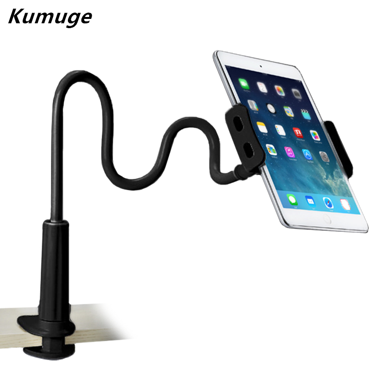 Flexible Desktop Tablet Stand Holder for iPad 9.7 2018 2017 Air 1 2 Tablet Bracket Mount for 3.5 10.1 inch for iPhone X Holder|tablet stand holder|tablet stand|tablet bracket - title=