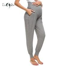 Женские брюки для беременных, супер Стрейчевые обтягивающие Рабочие Штаны для беременных, 3 цвета
