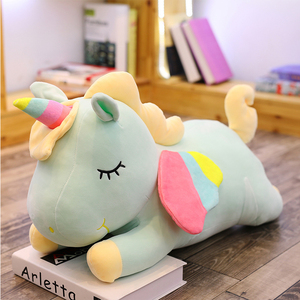 Image 5 - Western ตำนาน PUSHEEN Big Plush Unicorn ตุ๊กตาตุ๊กตาของเล่นตุ๊กตาตุ๊กตา Unicorn ปีกหมอนนุ่มสาววันเกิดของขวัญ Licorne
