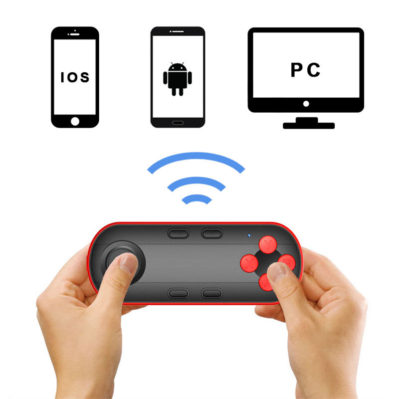 Android/IOS VR Remote Control/Console Bluetooth Gamepad Remote Controller for VR Glasses/Goggle Wireless VR Joystick Game Handle