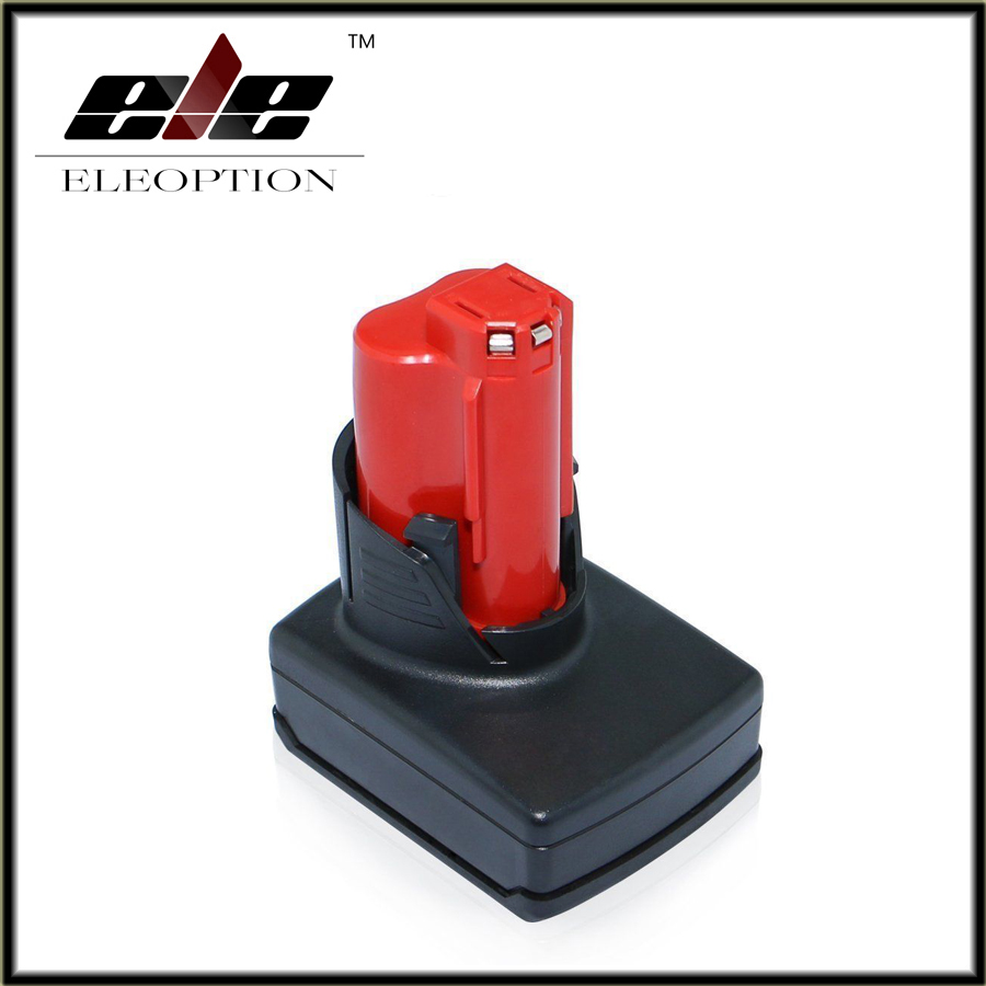 New Rechargeable Power Tool battery for Milwaukee M12 XC Li-ion battery 12V 3000mA 48-11-2401, 48-11-2402, C12 B, C12 BX, M12