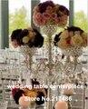 Alrededor de 20 días de orden enviada lámpara de acrílico soporte de flor para la boda centros de mesa decoración de la boda y la decoración