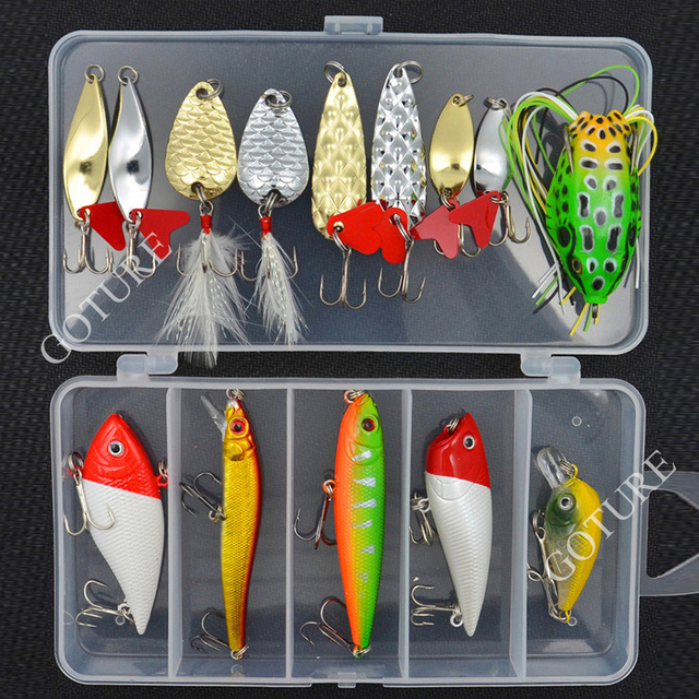 14 pcs/Pack Fishing Lure Kit