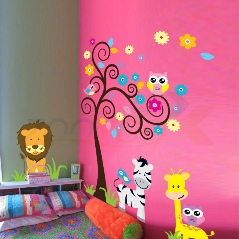 Compra preescolar decoraci n de la pared online al por for Decoracion para pared fucsia