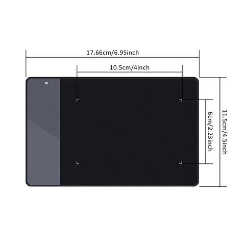 "Hot Sale New HUION OSU 420 4"" Graphic Digital Tablets Professional Signature Tablets Handwriting Tablet Black Karachi"