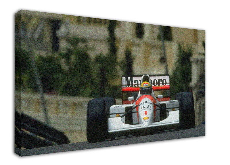 wk-f401-9-ayrton-font-b-senna-b-font-canvas-stretched-wood-framed-18x12inch-poster