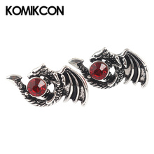 цена на Game Of Thrones Stark Targaryen Dragon Dragonfly Earrings Women Girl Lady Jewelry Gift Halloween Party Costume Accessories