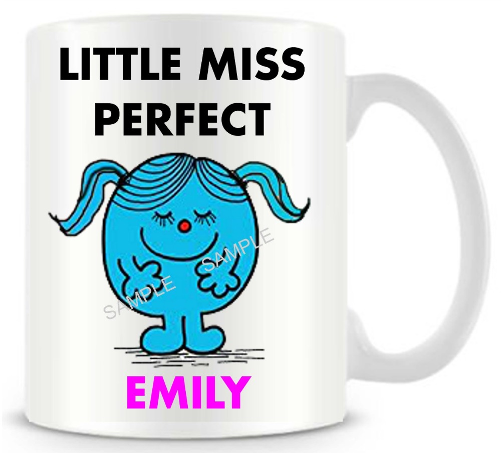 Personalized miss perfect funny novelty travel mug ceramic white personalized miss perfect funny novelty travel mug ceramic white coffee tea milk cup customized birthday easter gifts 11oz in mugs from home garden on negle Image collections