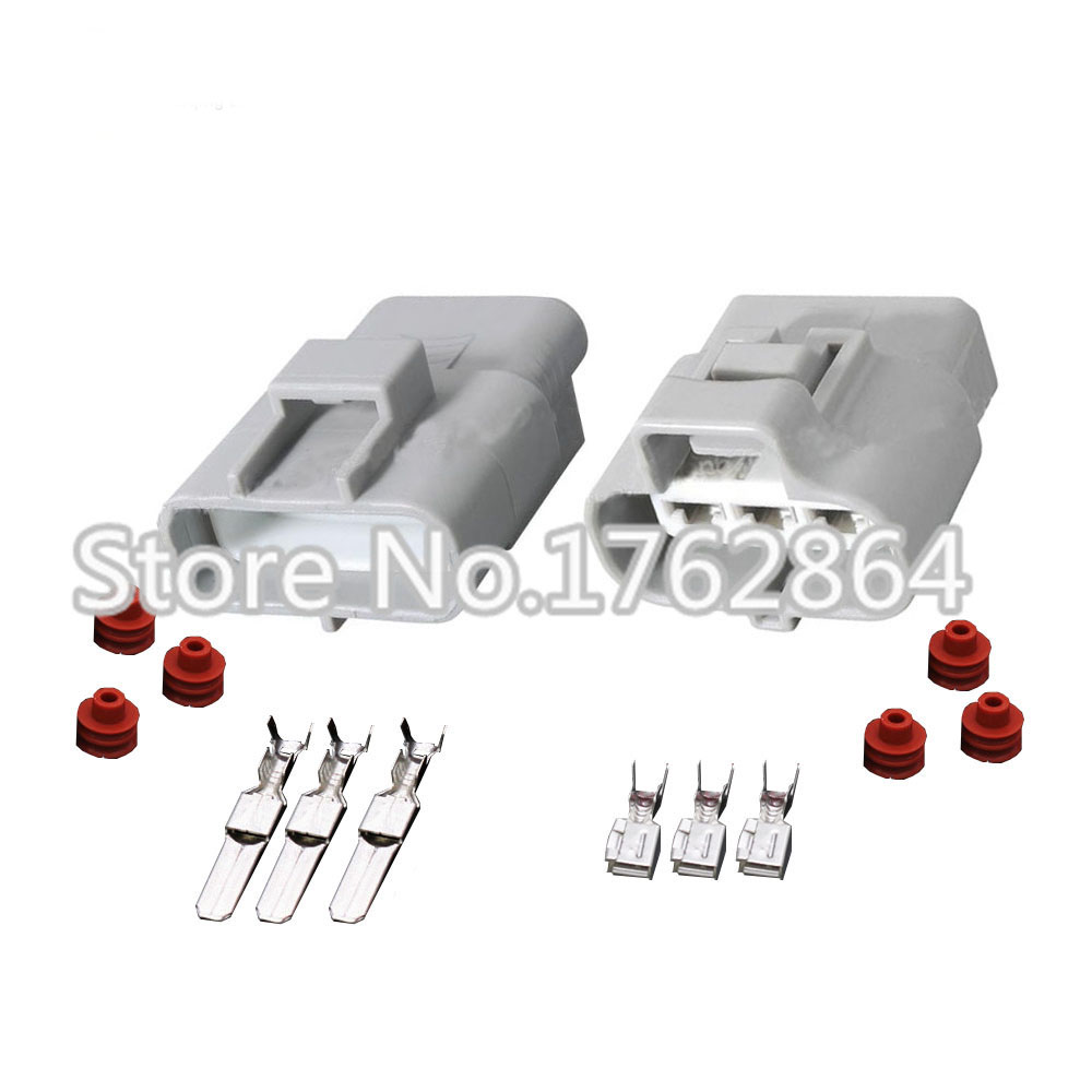 10 PCS 3 pin Sumitomo MT 4.8mm Series Pin Connector Female Gray DJ7031Y-4.8-21