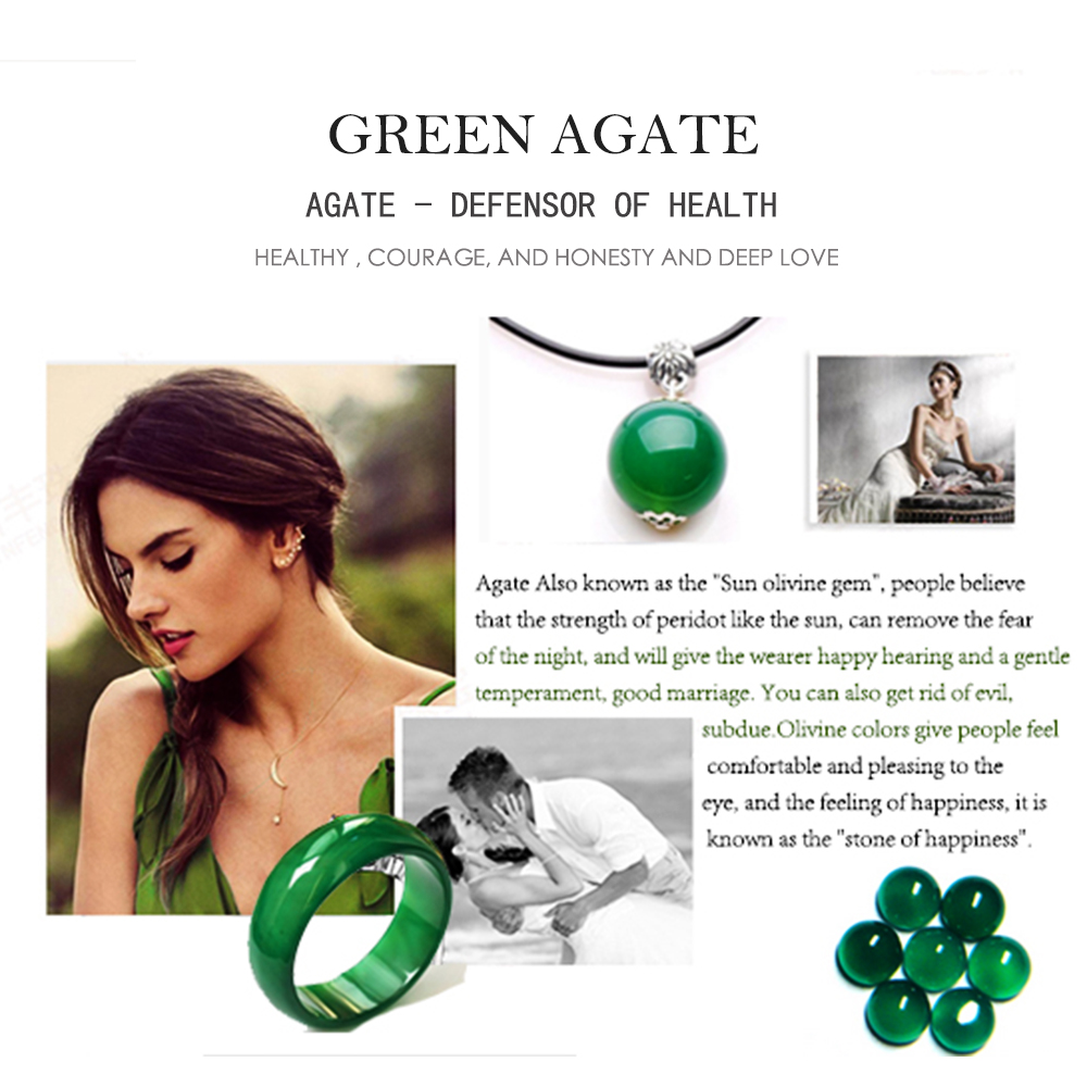 Natural Gemstone Green Agate LMGAT