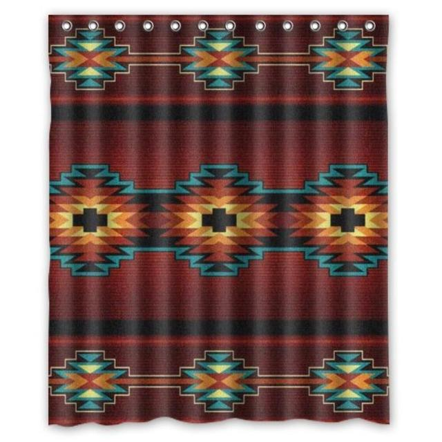 Incroyable Best Home Choice Southwest Native American Polyester Bathroom Custom