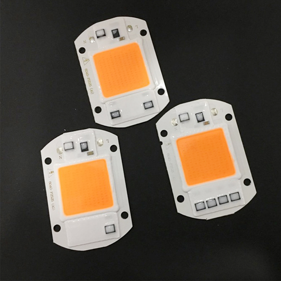 1pcs 220/110V 20/30/50W LED COB Chip For Grow Plant Light Full Spectrum Input For Indoor Plant Seedling Grow And Flower