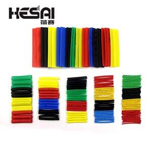 Image 3 - Kit de tubo de Cable de carcasa de poliolefina de Tubo Termocontraíble, Color mezclado, 164 Uds.