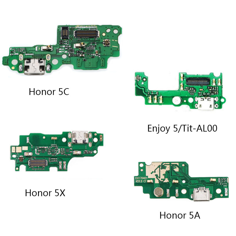 USB Charger Charging Dock Port Connector Board Flex Cable For Huawei Honor 5X 5A 5C Enjoy 5 TIT-AL00 Repair Parts