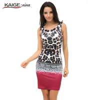 2015 Desigual Dress Women Summer Dress Bodycon Knitted Dress Comfort Printed Vestidos Casual Clothing Vintage Floral