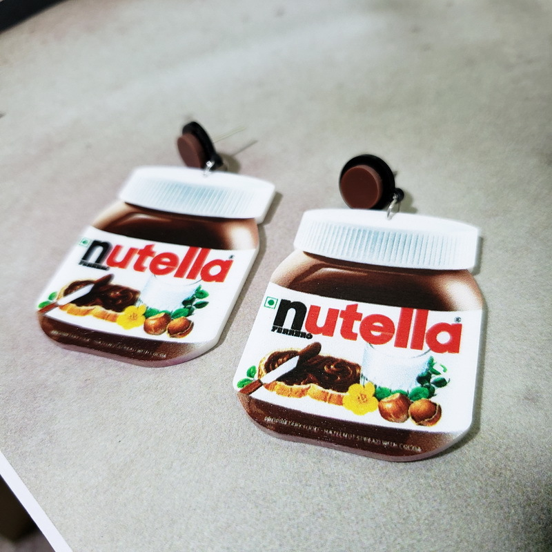 Nutella Earrings 1