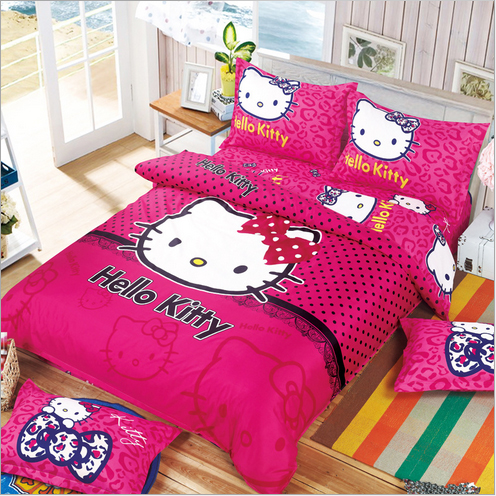 Cartoon Bedding Set Children Cotton Bed Sheets Duvet Cover Bed Sheet  Pillowcase 3 4pcs In Bedding Sets From Home U0026 Garden On Aliexpress.com |  Alibaba Group