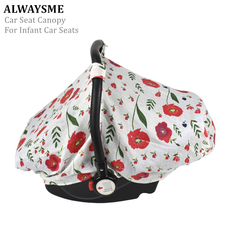 Alwaysme Car Safety Seat Canopy For Infant Car Seats Universal