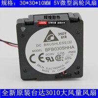 Абсолютно Новый DELTA BFB0305HHA 3010 5 V 0.23A 3 см турбинный вентилятор охлаждения