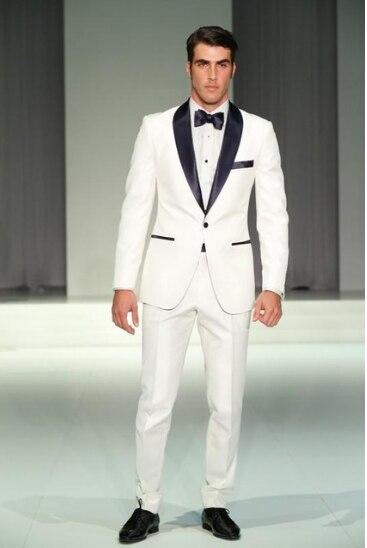 87ecc14b4f083 Medida Hecho gris Esmoquin Marino Hombres púrpura Hombre Negro Trajes  Graduación azul De Niño Vestido Traje Pantalones ...