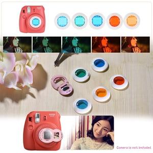 Image 5 - Andoer PU 보호 카메라 케이스 백 파우치 보호대 Fujifilm Instax Mini 8 8 + 8s 9 미니 9 Instax 카메라 가방 2018 새로운