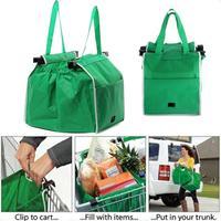 1 шт Складная хозяйственная сумка большая Ёмкость корзину мешки многоразовые складной мешок тележка супермаркета мешки для хранения Сумки
