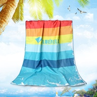 New Beach towel Bath Microfiber Sports Swimming outdoors Mat Camping Travel Quick Drying Blanket Gym Yoga Adults Fabric