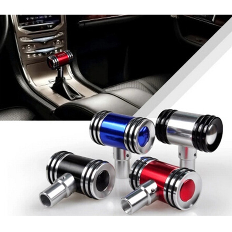 ZDPARTS Universal Car Styling Gear Shift Knob T 5/6 speed for Skoda Octavia A5 A7 2 Rapid Fabia Yeti Superb Volvo V70 XC60 XC90