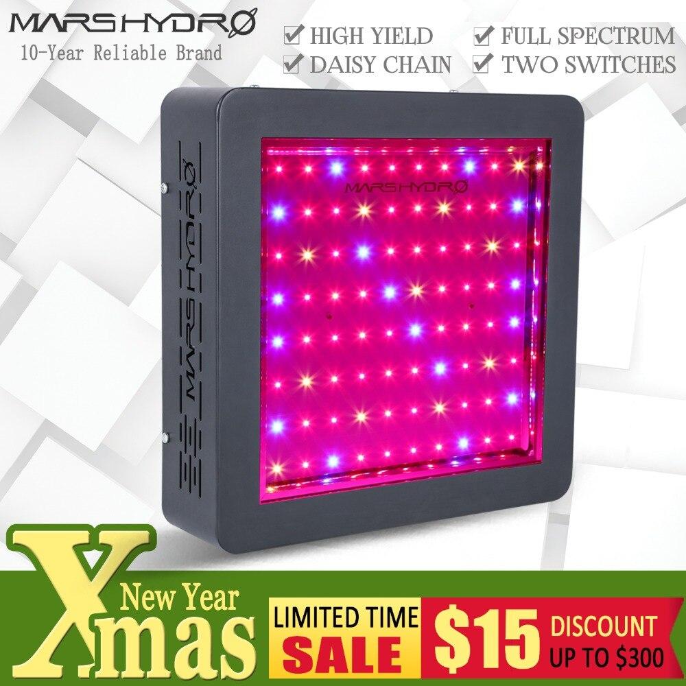 Mars Idro LED Coltiva La Luce Mars II 400 Spettro Completo Pannello di Sistema Idroponico per Piantare Verdure Giardino Interno