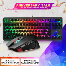 Hexgears FPS Gaming Mouse PC Gamer Mechanical Keyboard Lampu Latar RGB Mouse Mouse Gamer Keyboard Mouse Combo Keyboard Mouse Combo(China)