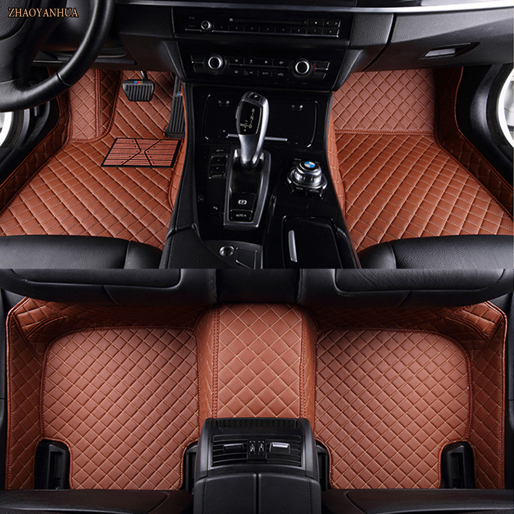 ZHAOYANHUA Special car floor mats for Mazda 3/6/2 MX-5 CX-7 5D Waterproof all weather car-styling leather Anti-slip carpet linerZHAOYANHUA Special car floor mats for Mazda 3/6/2 MX-5 CX-7 5D Waterproof all weather car-styling leather Anti-slip carpet liner