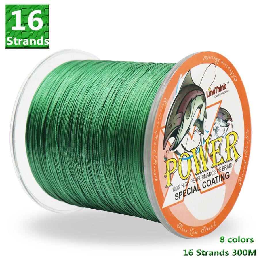 power-font-b-fishing-b-font-pe-line-16-strands-braided-font-b-fishing-b-font-line-300m-multi-color-super-strong-japan-multifilament-pe-braid-line-60lb-310lb