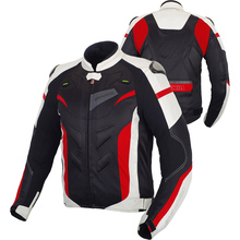 BENKIA 2017 Motorcycle Jacket Men Motocross Racing Jacket Reflective Riding Jacket Spring Summer Detachable Liner Veste Moto