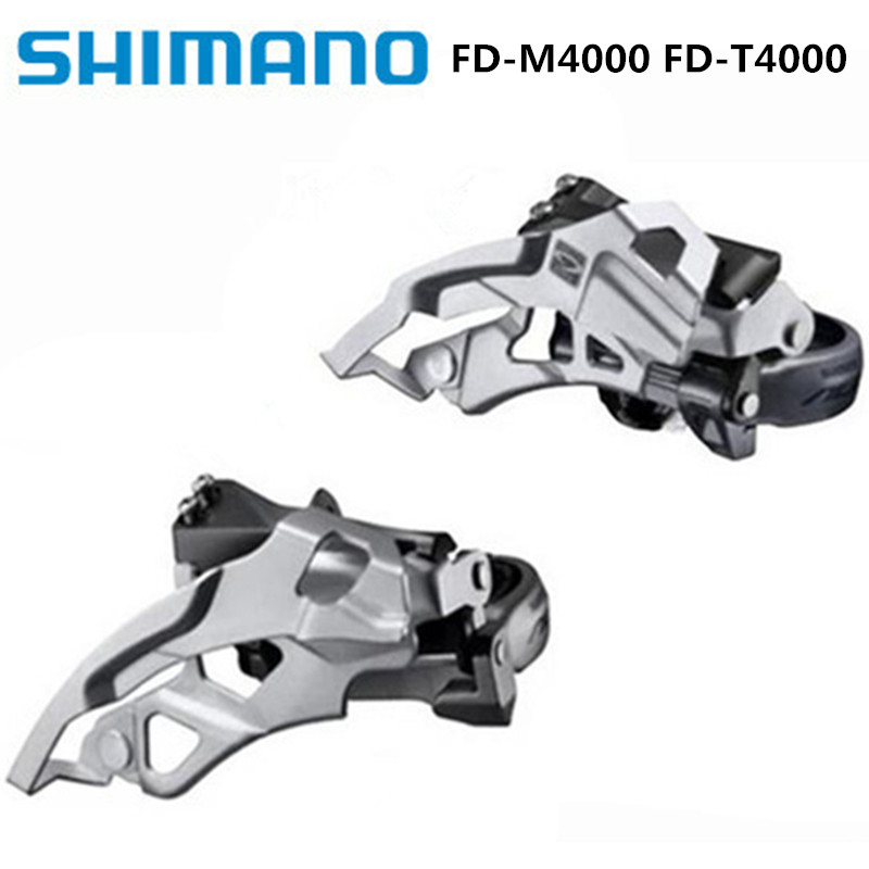 Shimano Alivio Fd-m4000 Fd-t4000 Front Dial 9s/27 Speed Front Derailleur M430 Upgrade Version Brand New Original Refreshing And Beneficial To The Eyes Bicycle Derailleur