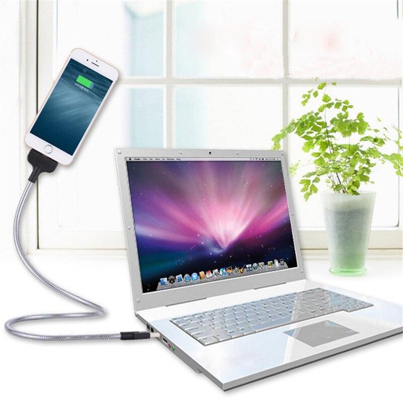 Телефон USB металла держатель Мобильный телефон линии передачи данных Бесплатная деформации для Apple iPhone samsung huawei телефона Android Держатели