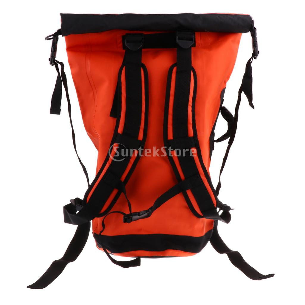 e92b20c8e31e US $48.45 18% OFF|45L Heavy Duty PVC Waterproof Dry Bag Backpack Hiking  Rucksack Water Sports Kayak Boat Floating Pack-in Rowing Boats from Sports  & ...