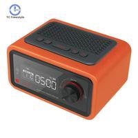 Multi function Speaker LED Display Multimedia Card Smart Radio Mini Electronic Desktop Bluetooth Digital Radio Alarm Clocks
