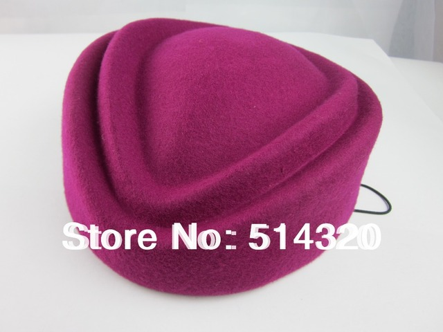 A049 Слот стюардесса крышка Стюардесс Pillbox Hat Чародей Базы