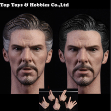 With hands types 1/6 Male Solider Head Carving 1/6 Doctor Strange Head Sculpt 2.0 Fit 12'' Body man Action Figure Toys 1 6 man head sculpt carving supernatural dean winchester jensen ackles type headsculpt for 12 male action figure body