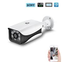 Hamrolte IP Camera H.265 SONY IMX323 UltraLow Illumination 3MP 2MP Outdoor Waterproof CCTV Camera DC12V 48V POE Module Optional
