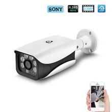 Hamrolte IP kamera H.265 SONY IMX323 ultra düşük aydınlatma 3MP 2MP açık su geçirmez güvenlik kamerası DC12V 48V POE modülü isteğe bağlı