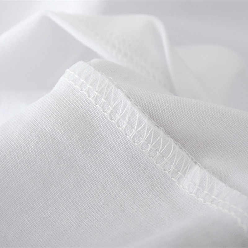 ZZSYKD été Sexy à manches courtes Crop hauts T-shirt blanc pour les femmes arc-en-ciel licorne Dabbing imprimé T-shirt Harajuku Vogue t-shirts