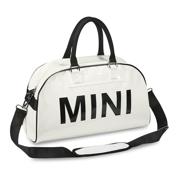 Mini cooper çanta askılı çanta tote Pu seyahat duffle