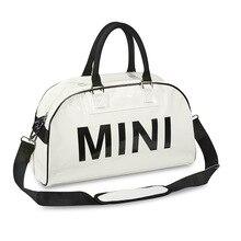 Mini cooper handbag messenger bag tote Pu travel duffle