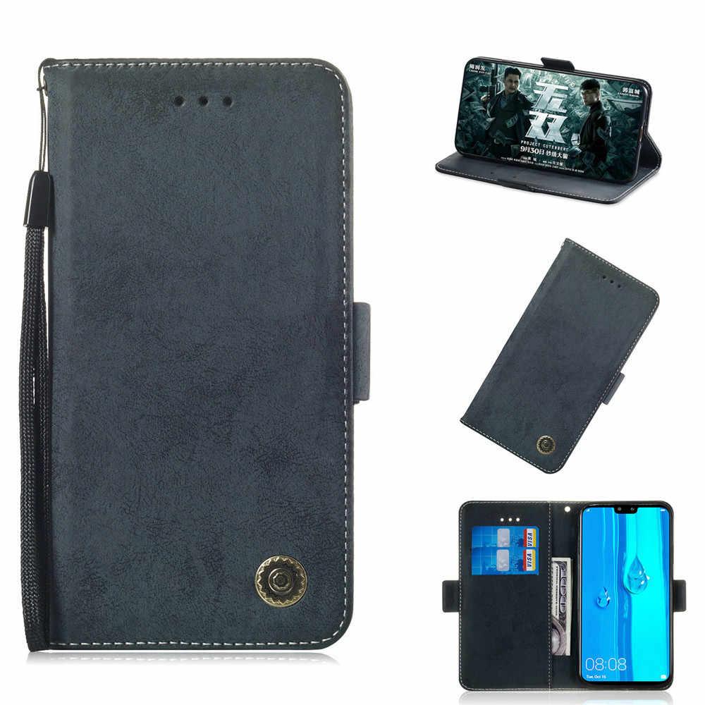 Retro Flip Book Phone Case for Huawei P10 P20 Mate 20 P8 Lite 2017 Pro Y5 Y6 2018 Y9 2019 P Smart Plus Nova 2i 3i Honor 8C 8X 10