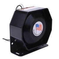 200W 12V LOUD Compact Alarm Warning Siren Speaker For PA System Pubblic Address